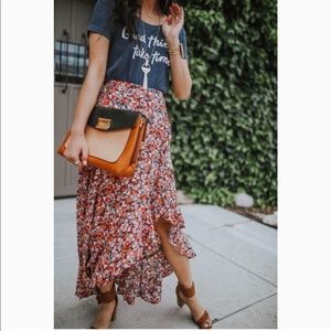 Dresses & Skirts - Bohme boutique floral maxi skirt